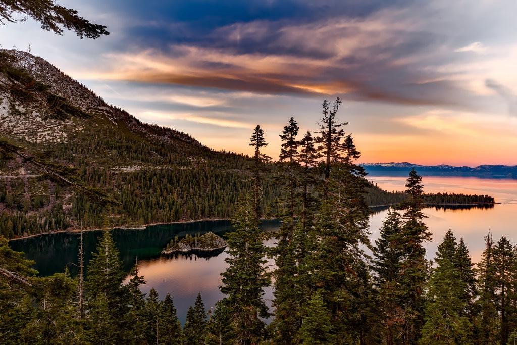 roadtrip door het westen van amerika lake tahoe