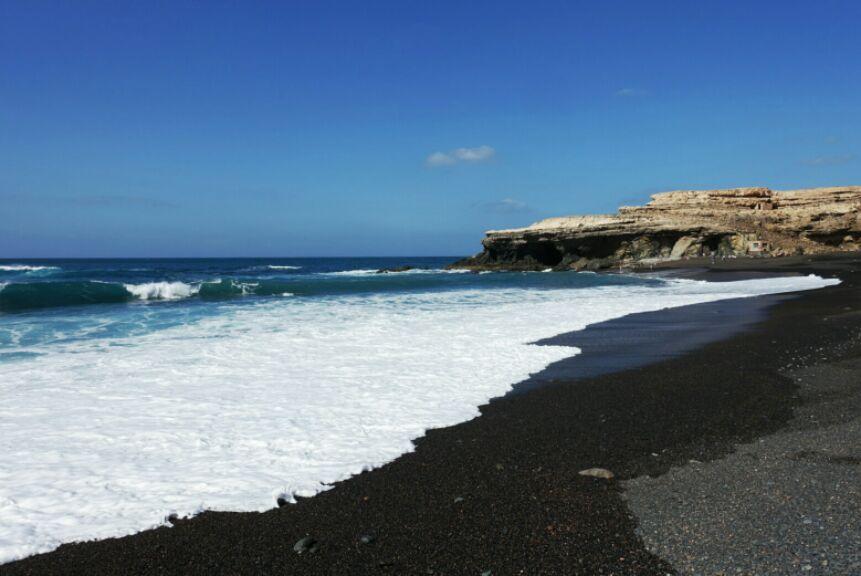 ajuy beach op fuerteventura