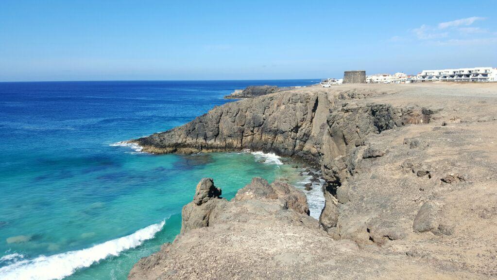 heldere zee fuerteventura