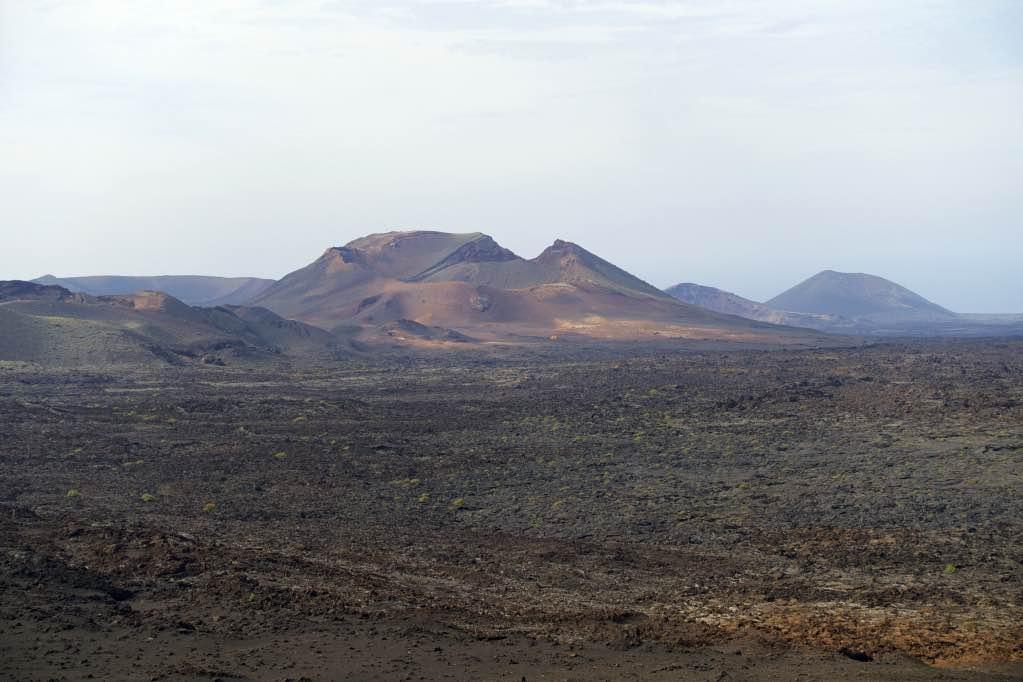 vulkanen beklimmen