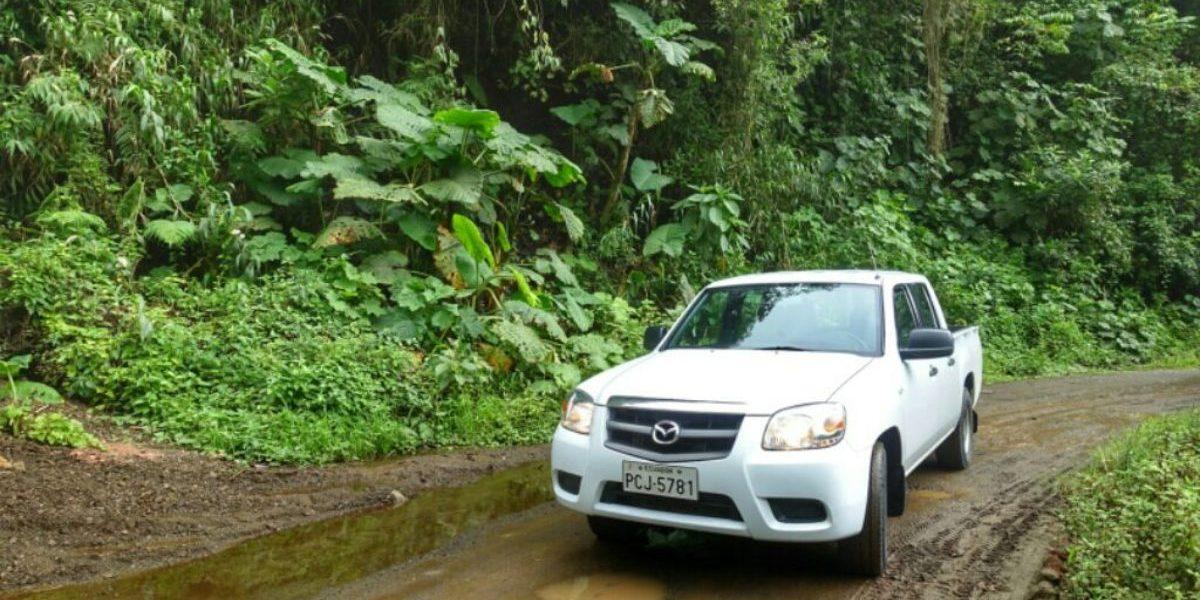 een auto huren in Ecuador