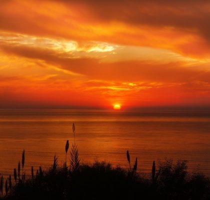 zonsondergang-curacao-uitgelicht