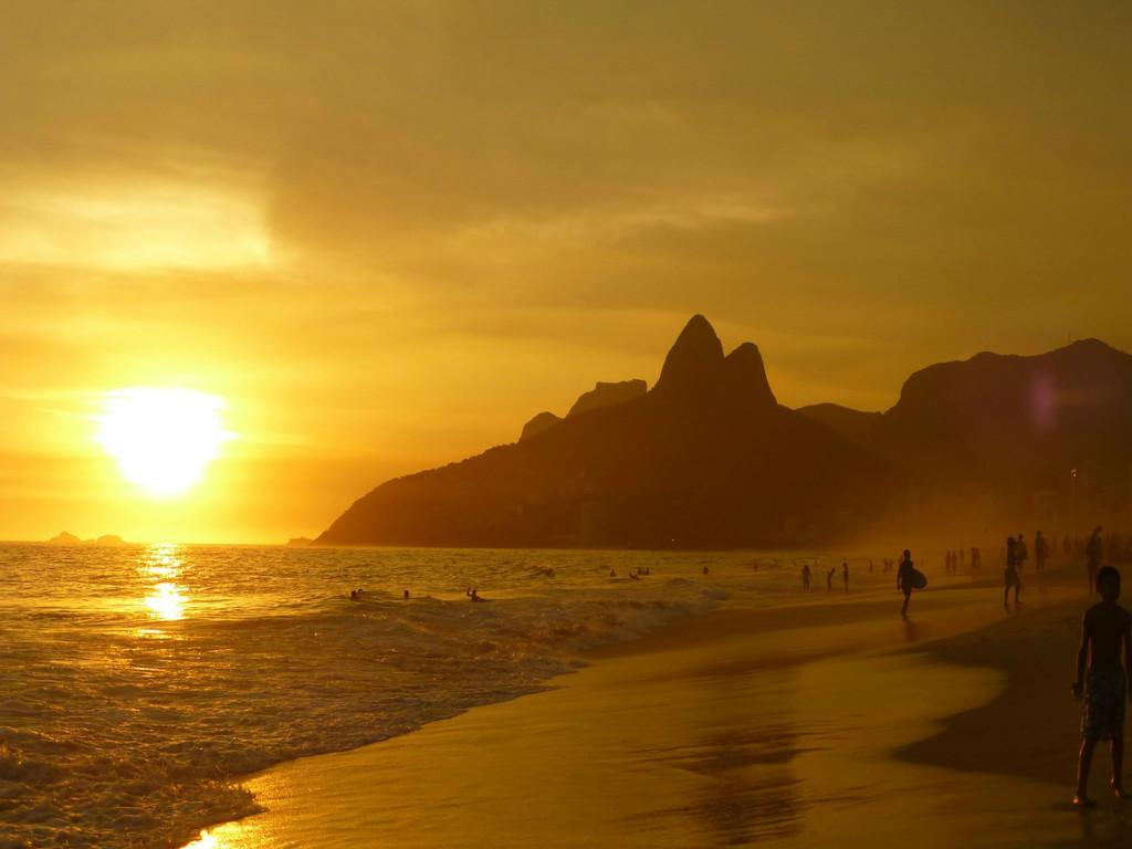 Surfen en werken in Brazilië