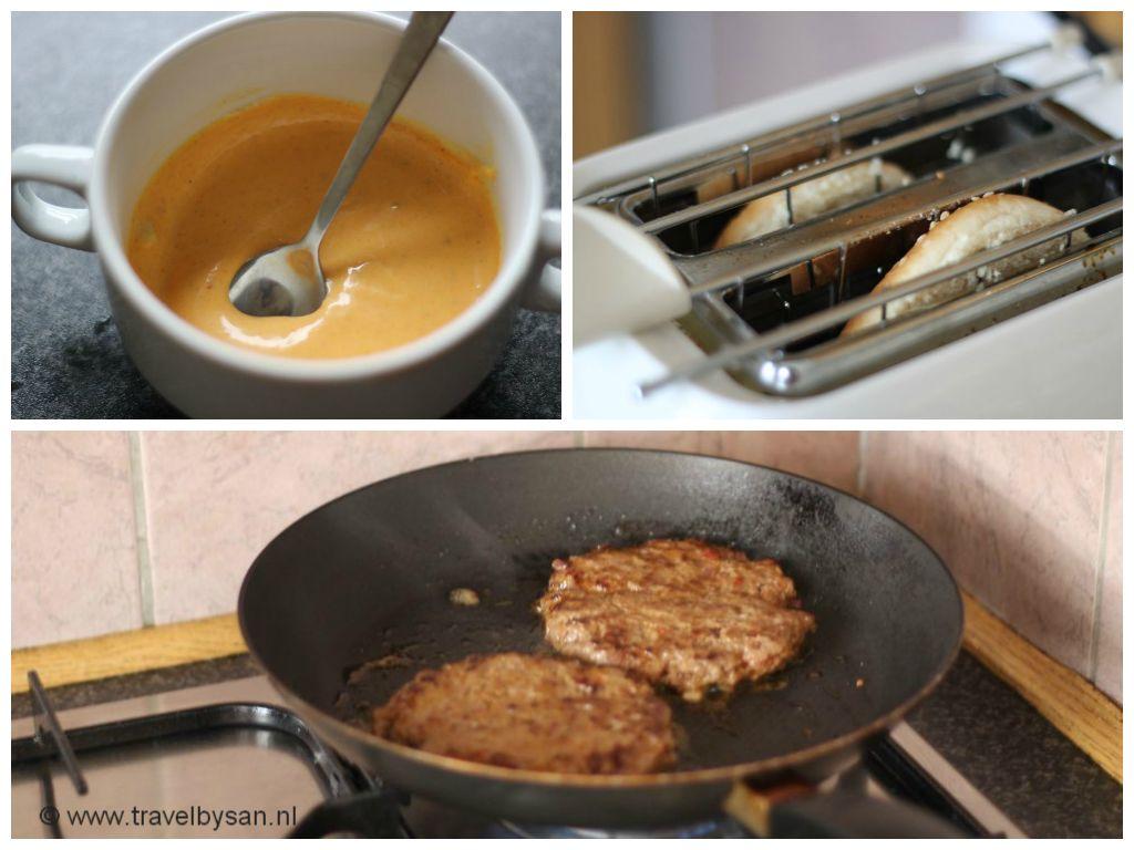 Recept Amerikaanse hamburger