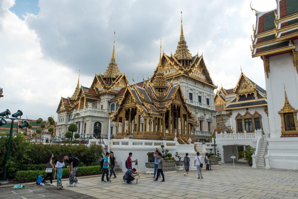 Het Koninklijk Paleis Bangkok