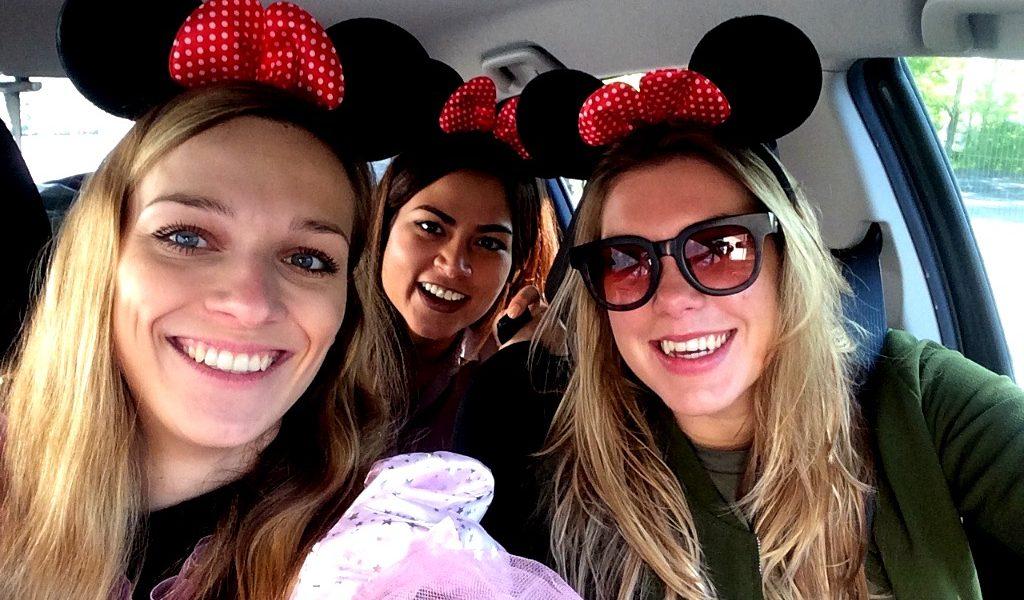 Op weg naar Disney