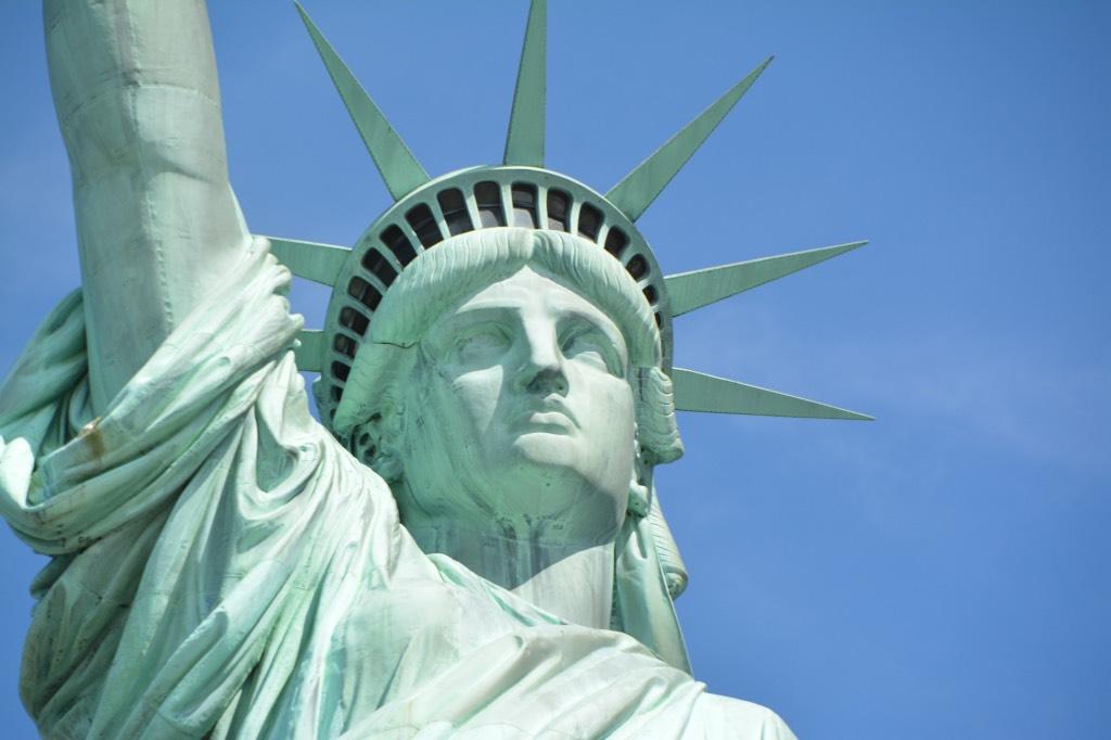 voor het eerst naar amerika