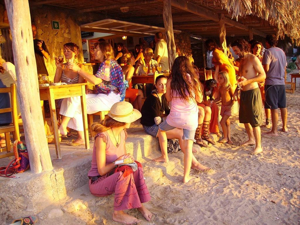 zonsondergang strand ibiza