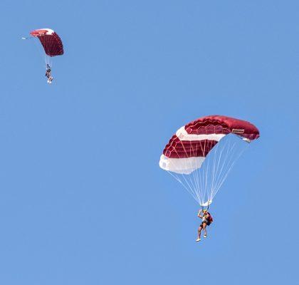skydiven in Nieuw-Zeeland