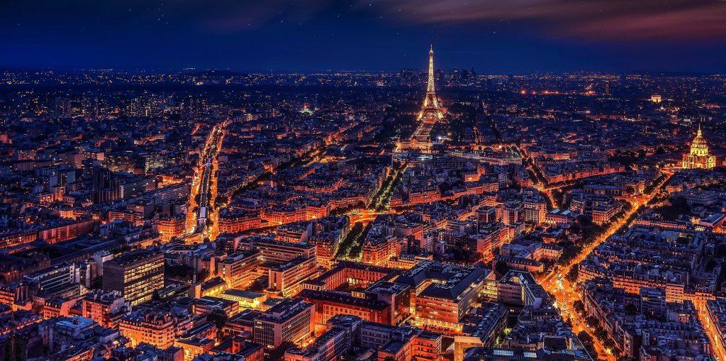 parijs stad van de liefde