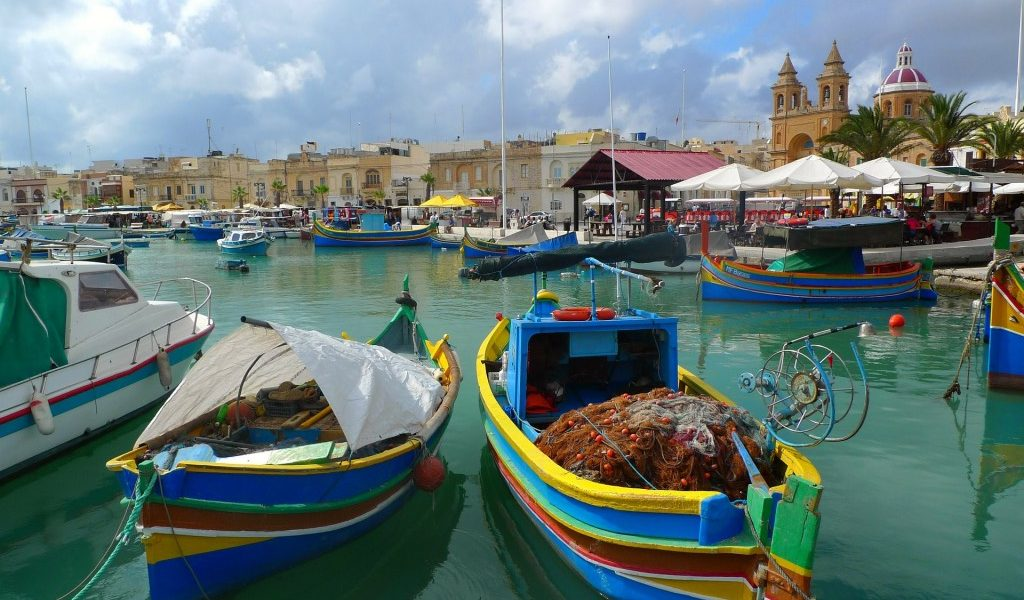 de haven van gozo