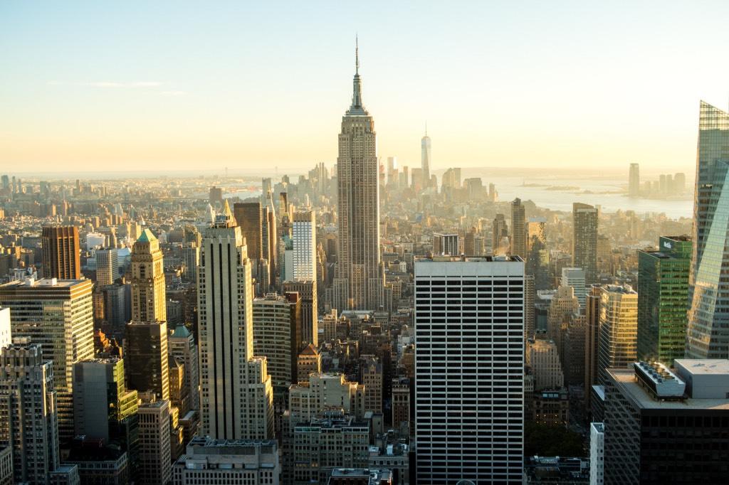 voor het eerst naar new york