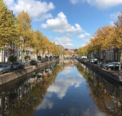 Grachten in Leiden