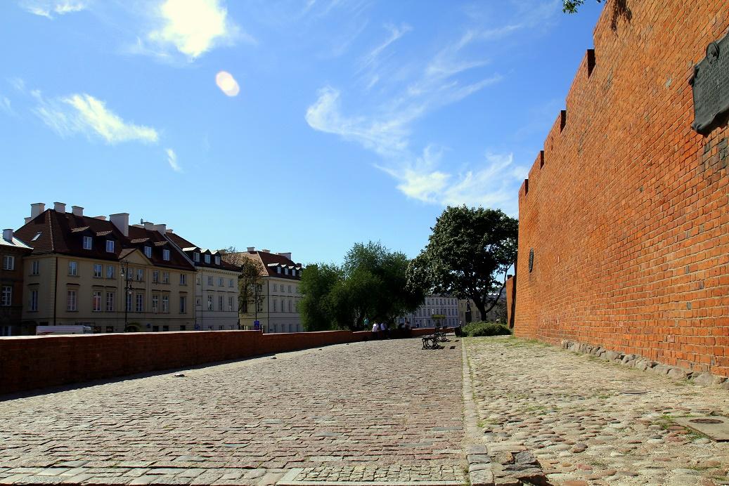 Stadsmuur Warschau