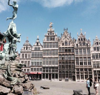 fietsen in Antwerpen 2