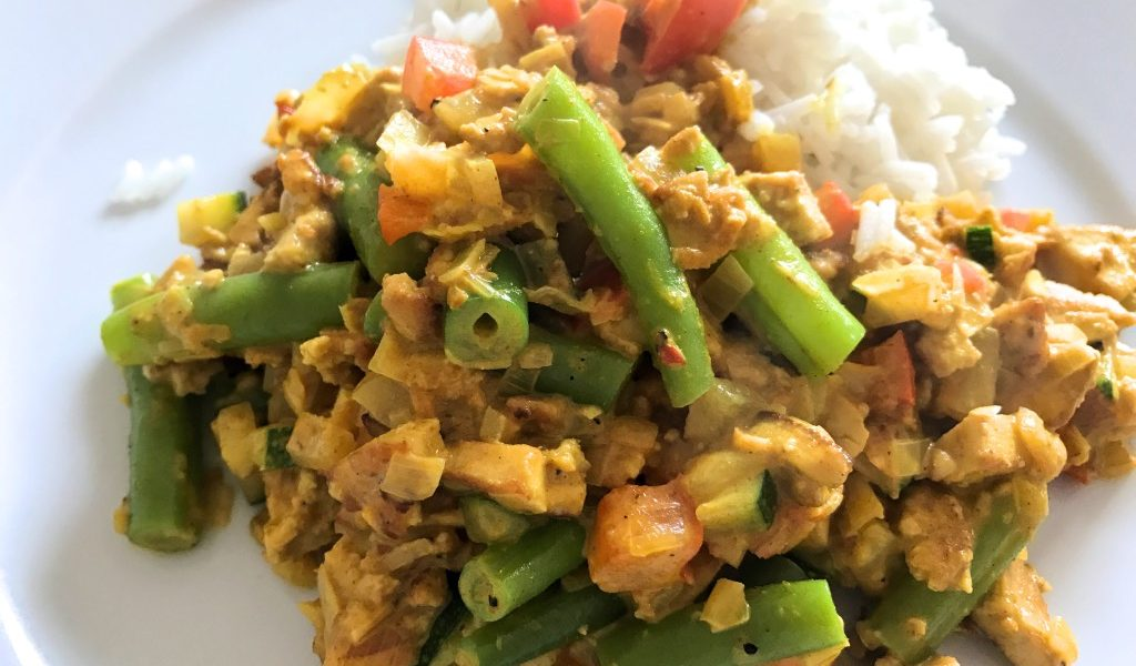 recept thaise curry