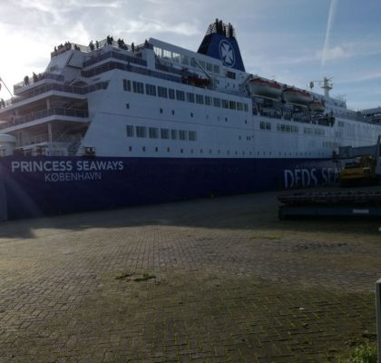 DFDS minicruise Newcastle