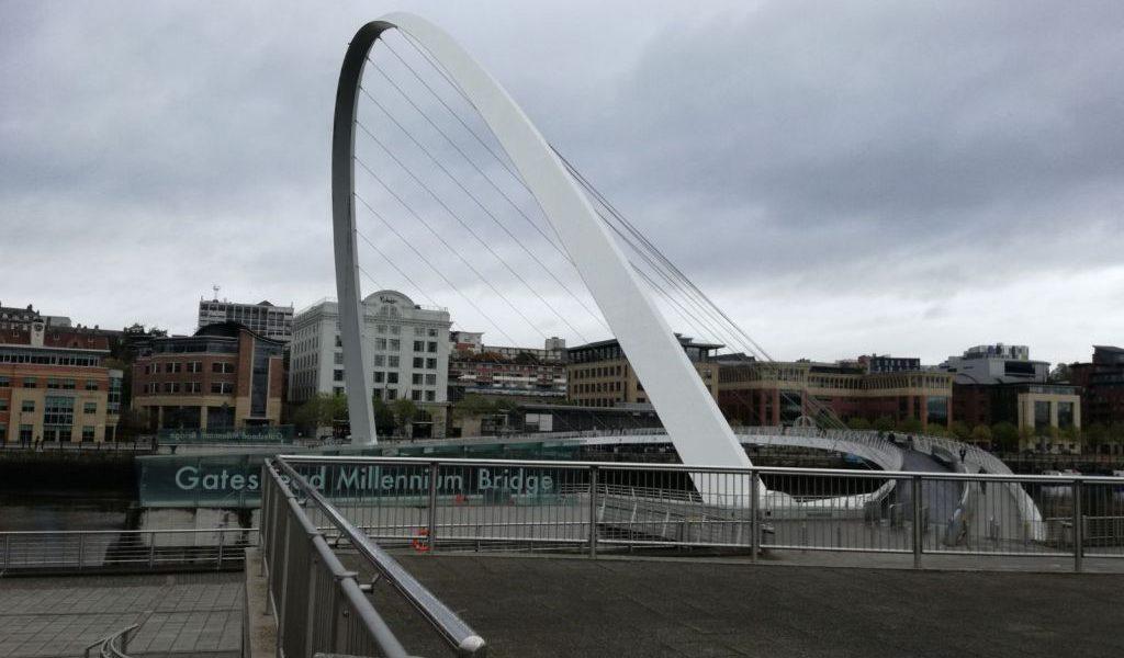 newcastle upon time millenium bridge