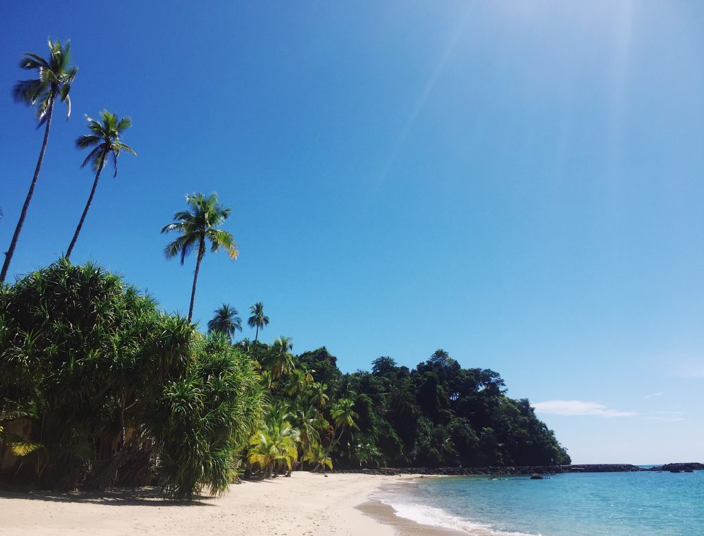 Coiba Panama strand