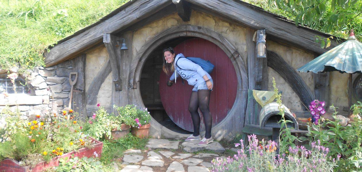 Nieuw-Zeeland een bezoek aan Hobbiton