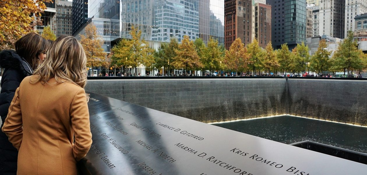 9/11 monument en museum ground zero new york twin towers world trade center aanslagen terrorisme