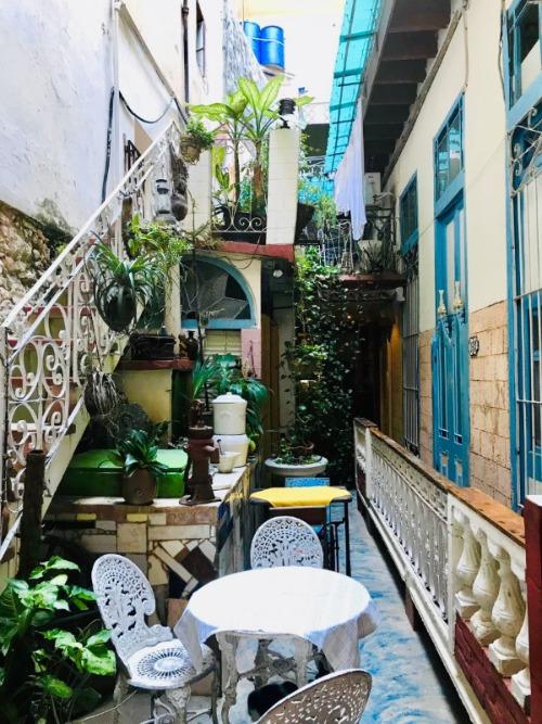 Cafe Arcangel Ontbijt Havana Cuba