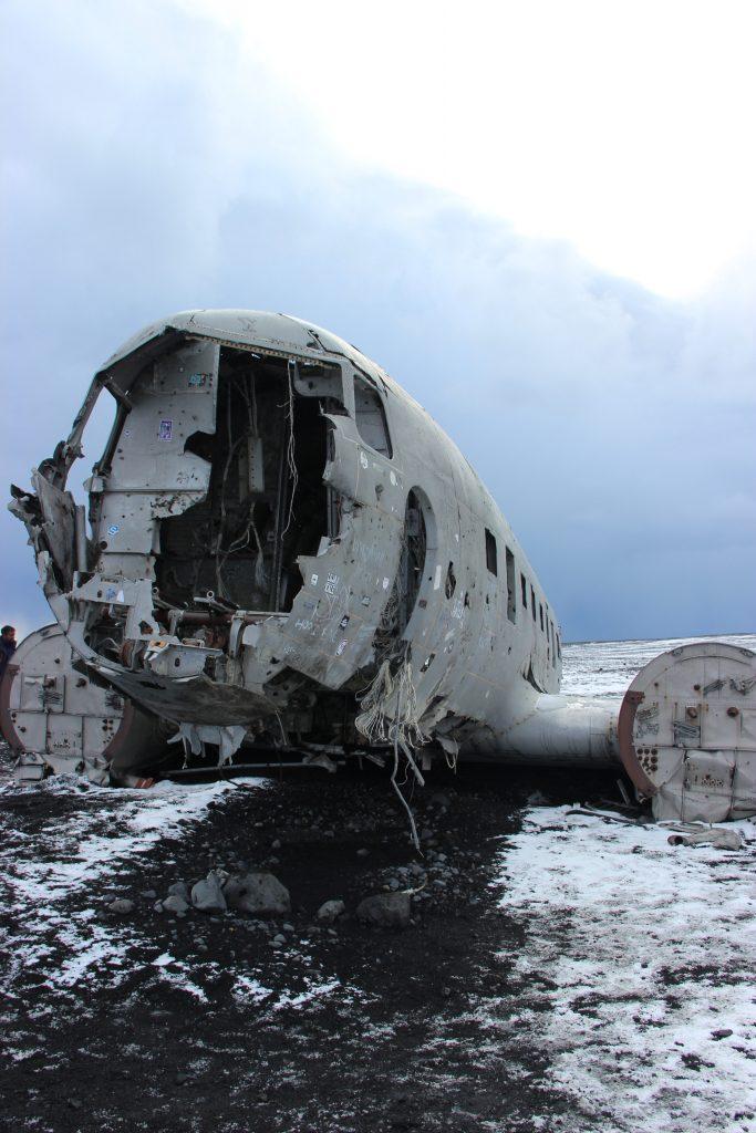 neergestort vliegtuig ijsland
