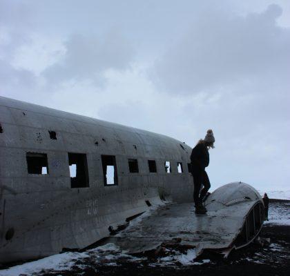 Solheimasandur vliegtuig