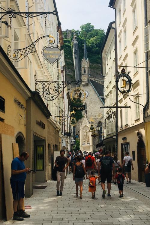 Salzburg Getreidengasse