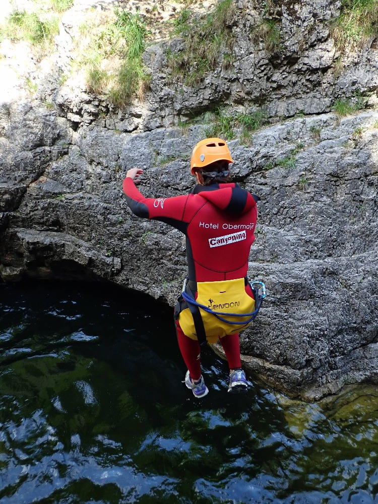 canyoning hotel obermayr