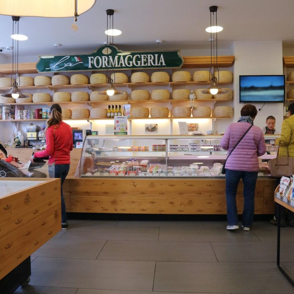 Olomouc cheese store