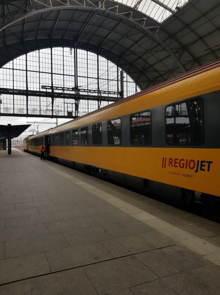 RegioJet train