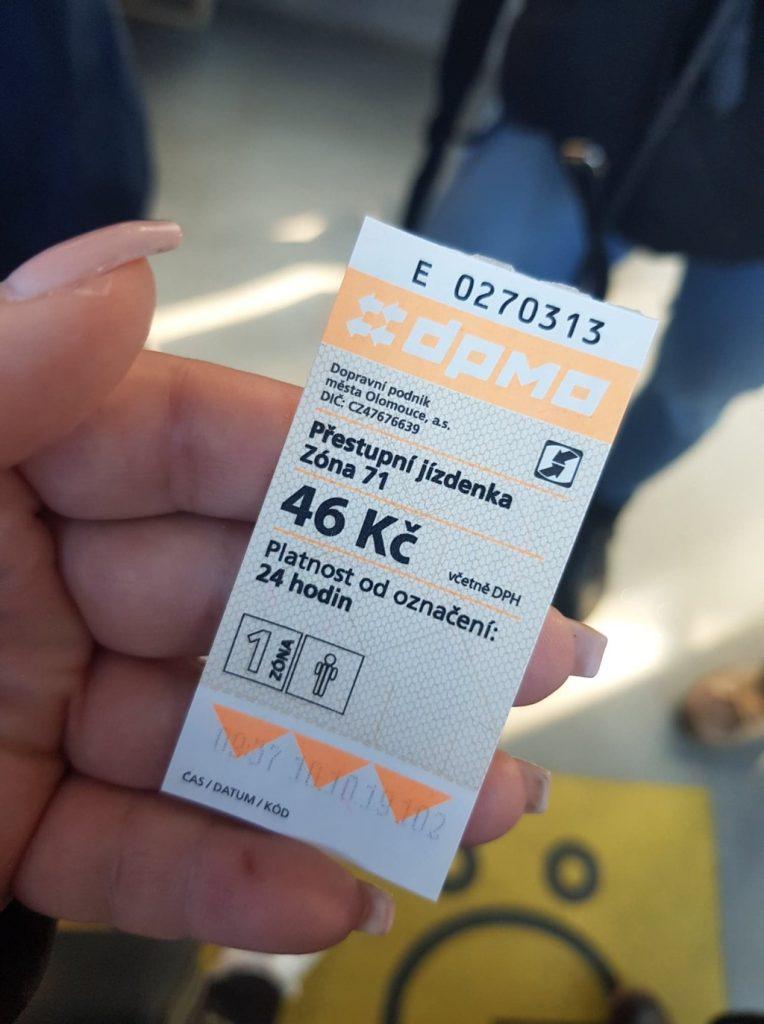 Tram kaartje