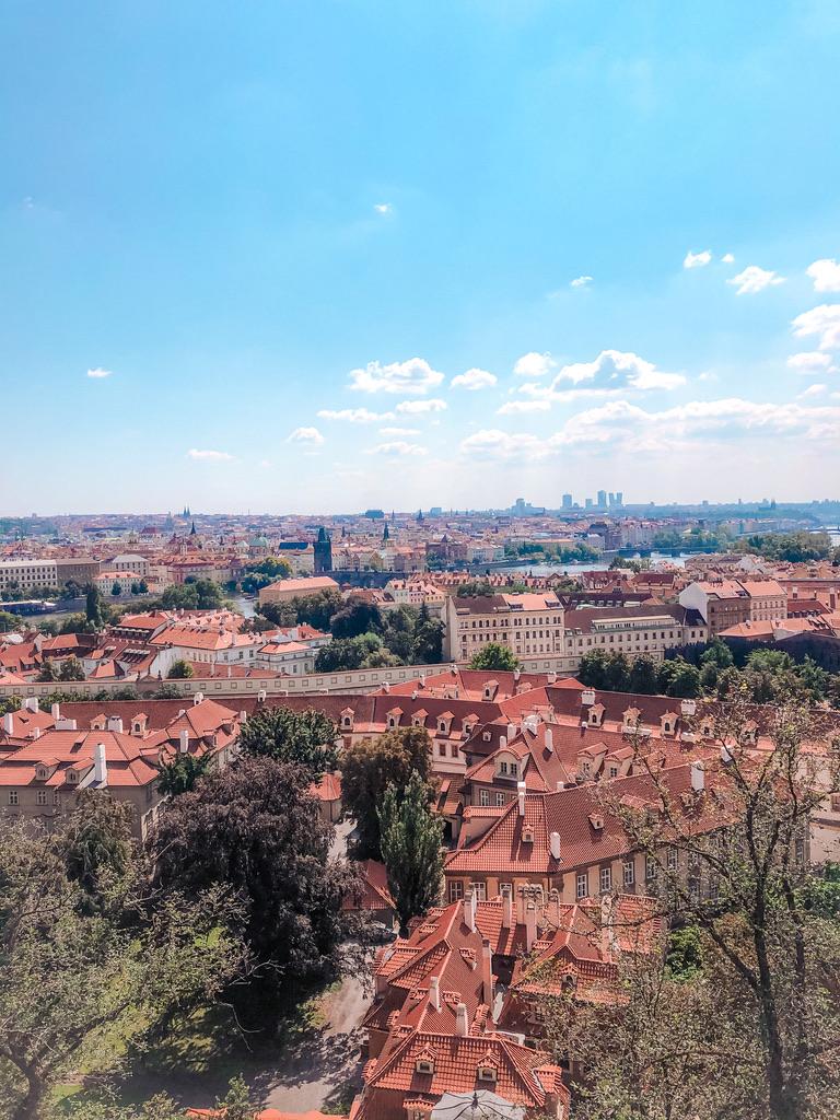 panorama uitzicht praag