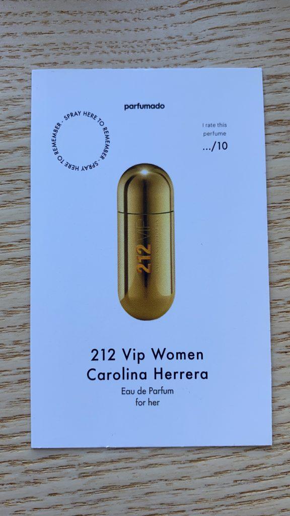 Parfumado - 212 Vip Women Carolina Herrera