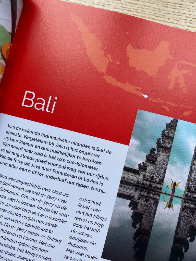 Trek in Indonesië-Bali