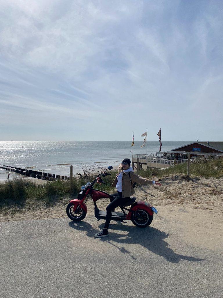 Zoutelande_e-chopper_Dreambikesrental_Zeeuwse_Kust